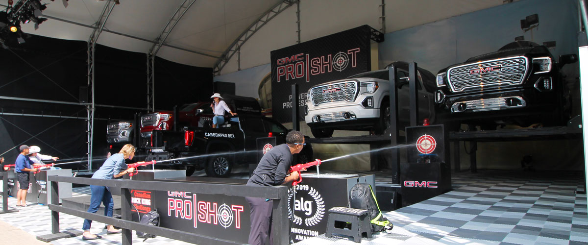 custom experiential display fabrication and design