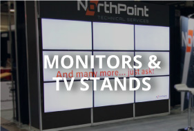 monitors and tv stands