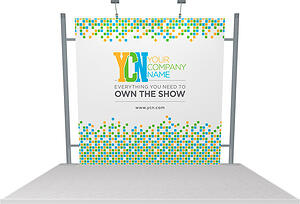 10x10 rental Octanorm display with full graphics