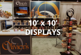 10x10 rental displays