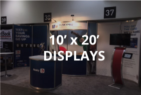 10x20 rental displays