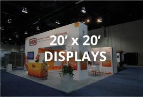 20x20 rental displays