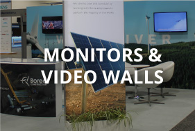 Monitors and video walls