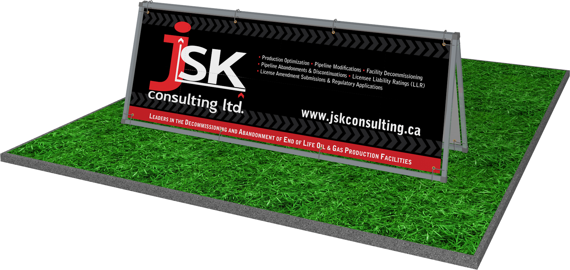 JSK outdoor sign a-frame