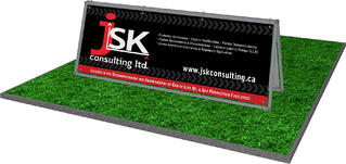 JSK Consulting outdoor sign