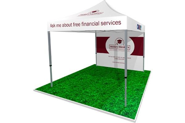 Outdoor Tent for Money Mentors