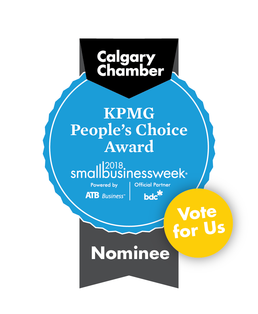 Calgary Peoples Choice Award