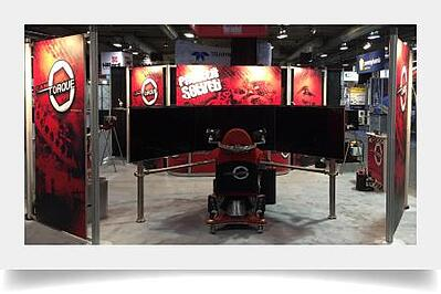 20 x 20 Octanorm Display for Cantorque