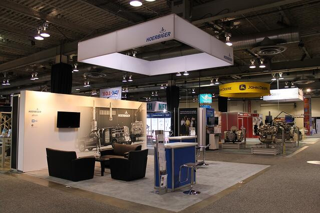 20' x 20' Exhibit for Hoerbiger
