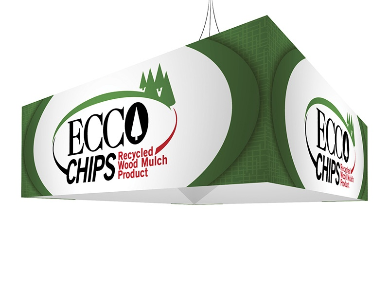 Hanging banner tradeshow display accessory