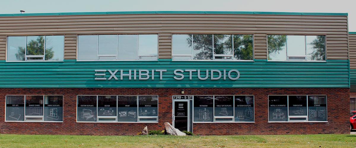 Exhibit Studio location in Calgary