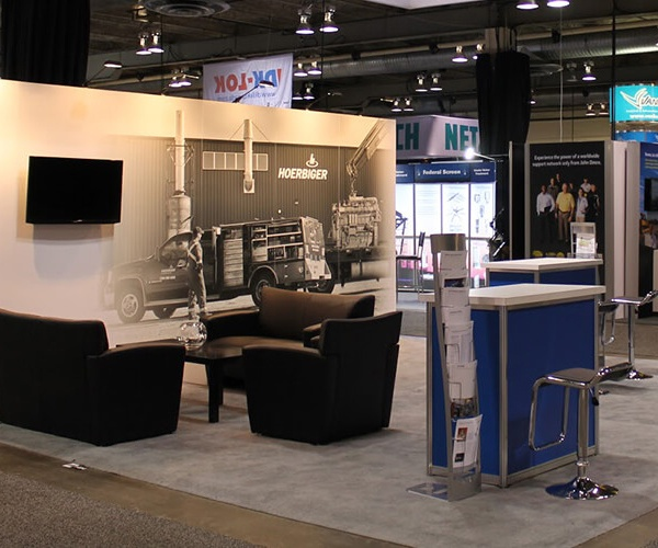 show services and booth management by Exhibit Studio