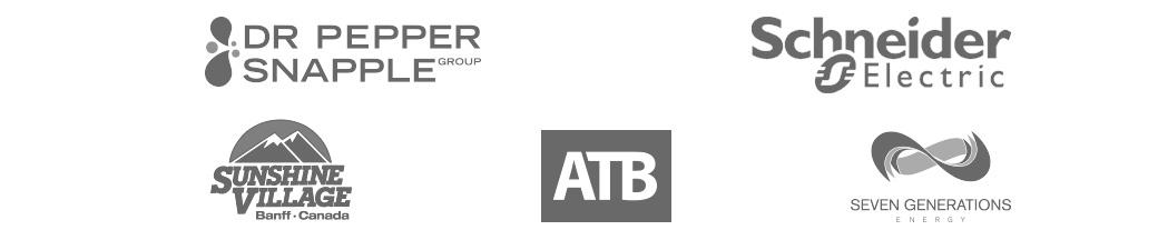 Modular client logos