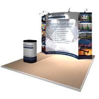 10x10 Gridline Modular Display for Superior