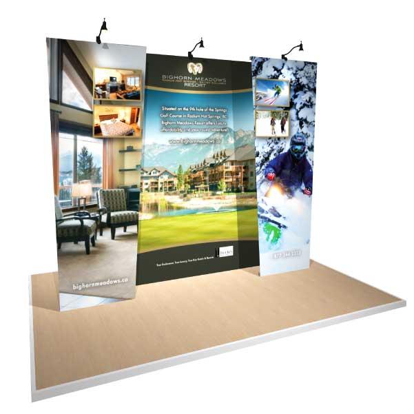 10x10 Gridline Modular Display for Bighorn