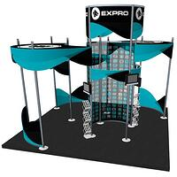 Octanorm 20x20 trade show display