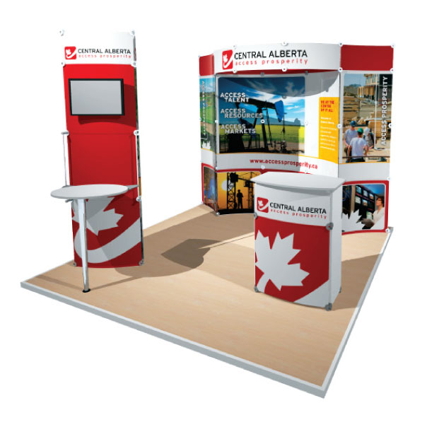 10x10 That Lite Thing Modular Display for Central Alberta