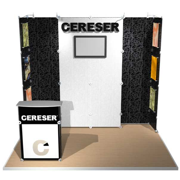 10x10 That Lite Thing Modular Display for Cereser
