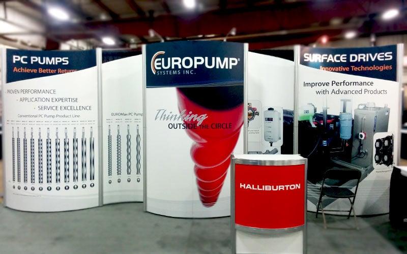 Europump Octanorm booth
