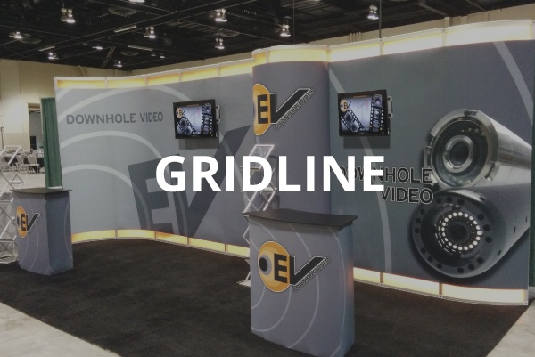 Gridline modular display