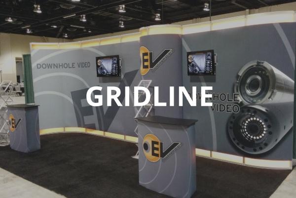 Gridline modular display