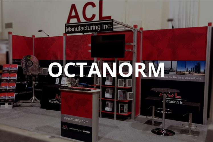 Octanorm 10x20 modular display booth