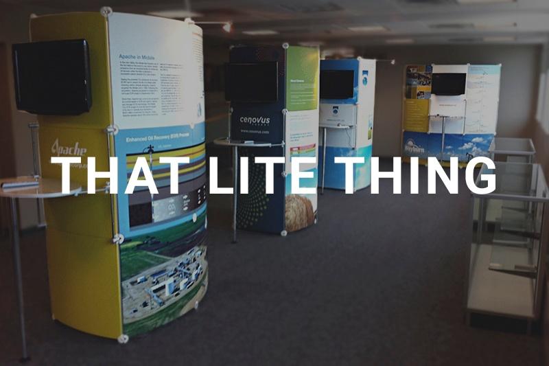 That Lite Thing modular display