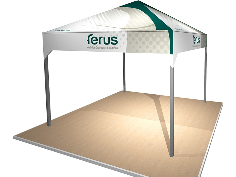 Outdoor promotional tent