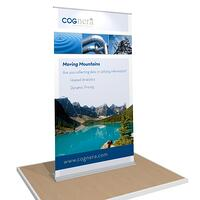 portable 4FT  banner stand for Cognera