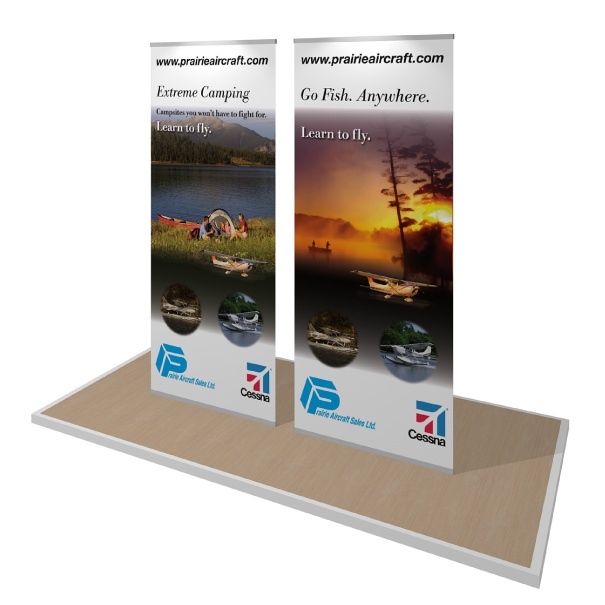 portable lite banner stands