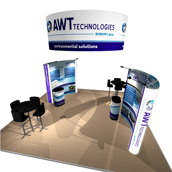 Portable Custom Pop-Up Display for AWT