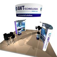 Portable Custom Pop-Up Display for AWT