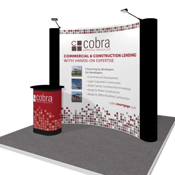 Partial Simple Pop Up Display for Cobra