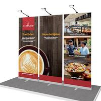 portable retractable banner stands for Good Earth