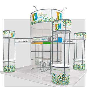 Rental Octanorm 20x20 Tower