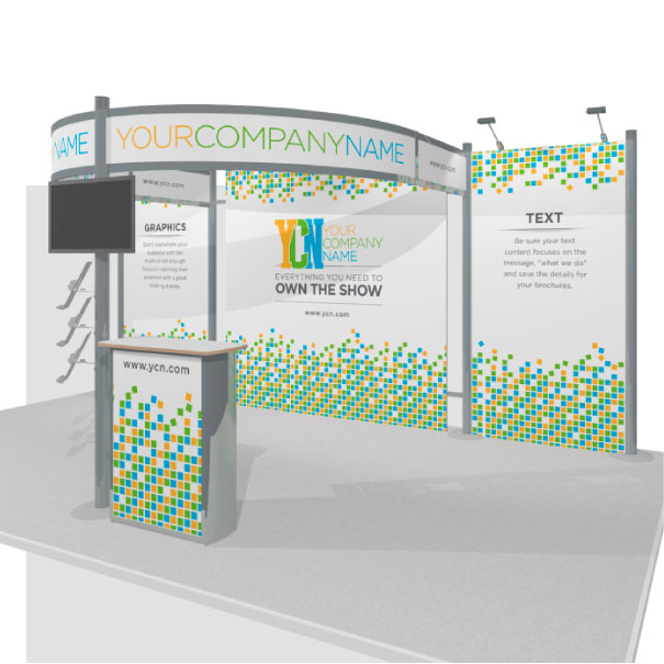 Rental Octanorm Trade Show Display
