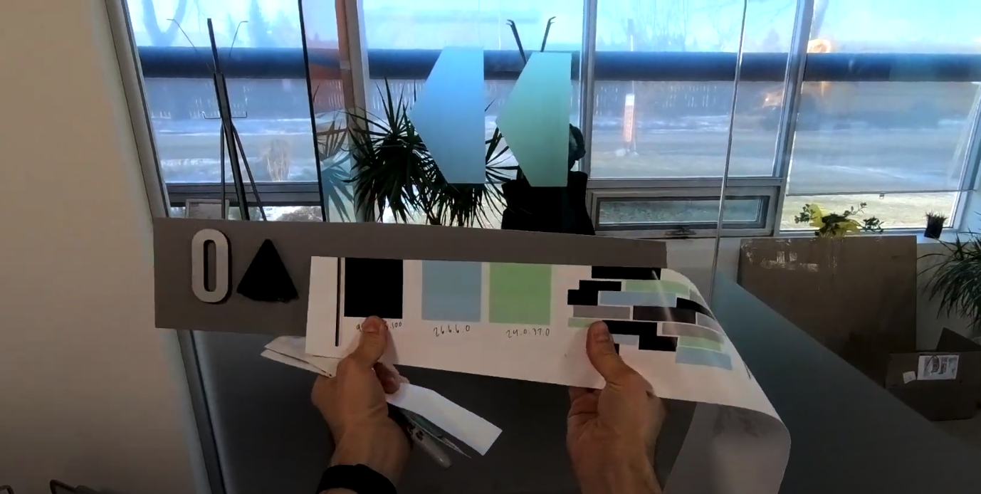 Precise colour matching for Betach Solution's environmental graphic decals