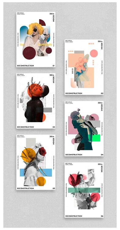 graphic design posters layout art